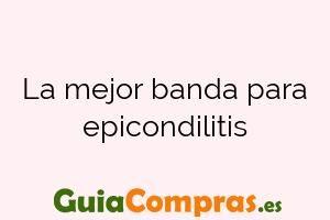 La mejor banda para epicondilitis