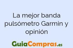 La mejor banda pulsómetro Garmin y opinión