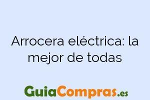 Arrocera eléctrica: la mejor de todas