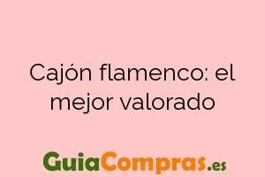 Cajón flamenco: el mejor valorado
