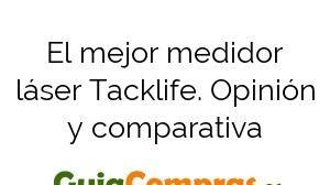 El mejor medidor láser Tacklife. Opinión y comparativa
