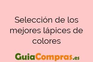 Selección de los mejores lápices de colores