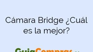 Cámara Bridge ¿Cuál es la mejor?
