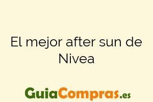 El mejor after sun de Nivea