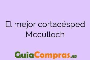 El mejor cortacésped Mcculloch