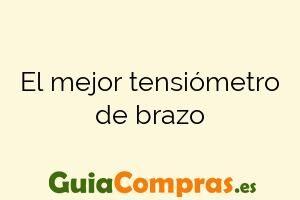El mejor tensiómetro de brazo