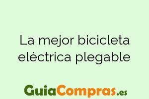 La mejor bicicleta eléctrica plegable