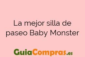 La mejor silla de paseo Baby Monster