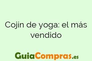 Cojín de yoga: el más vendido